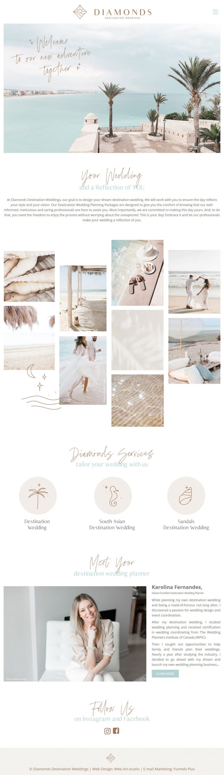Diamonds Destination Weddings